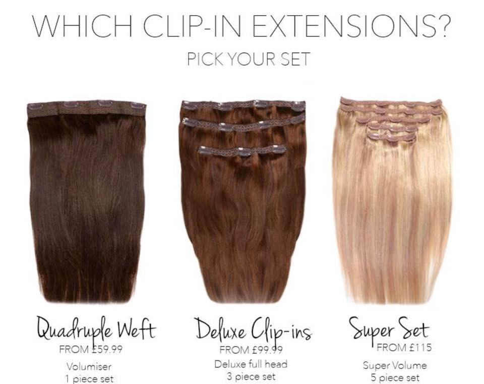 Clip In Hair Extensions La Hairvolution