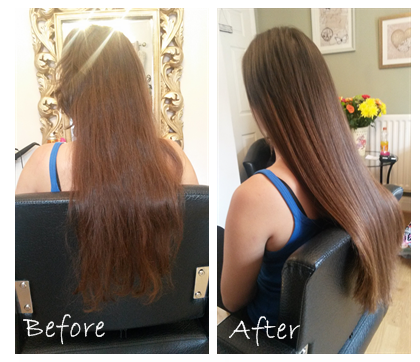 A heartfelt reason why i love hair extensions la hairvolution half a head 80gram 20 mini lock exensions used to replace hair loss after my pmusecretfo Gallery