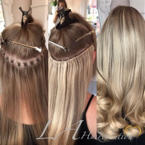 Our hair extensions la hairvolution mini tip hair extensions pmusecretfo Images